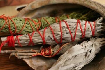 Sage, Sweetgrass & Smudgepot